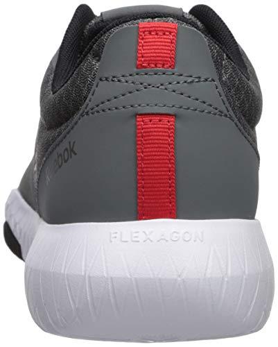 Red pewter Alloy black Flexagon Reebok Force white primal 977 Uomo nOY1g0Zq