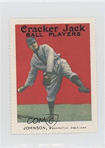 Walter Johnson (Baseball Card) 1977 Dover Classic Baseball Cards Reprints - [Base] #WAJO.2
