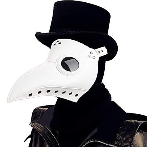 Qhome Steampunk Plague Beak Mask Gothic Cosplay