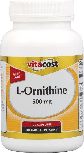 Vitacost L-Ornithine - 500 mg -
