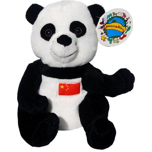 Ho Ping China Giant Panda Bear - Peaceables Planet Bean Bag Plush