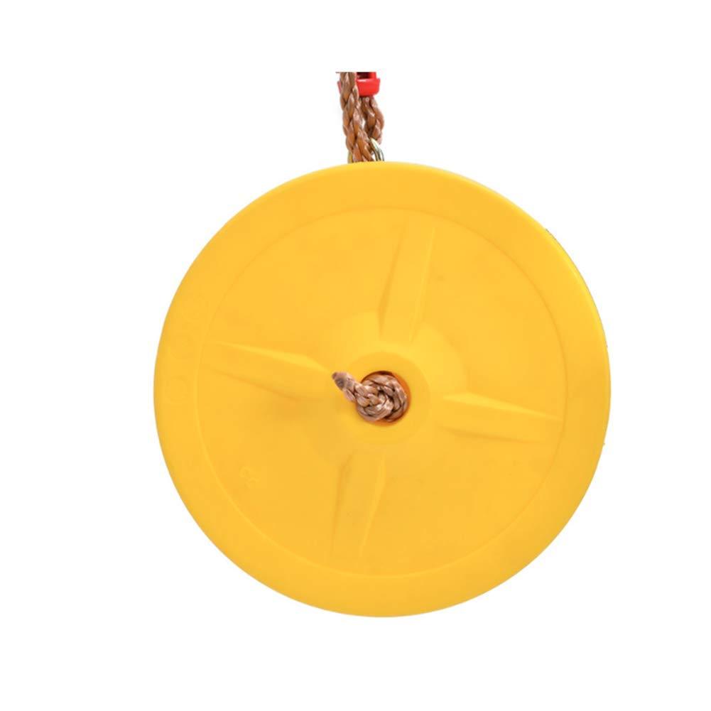 Asiento con Cuerda Ajustable para Juegos de jard/ín en el Patio al Aire Libre ANPI Columpio para ni/ños