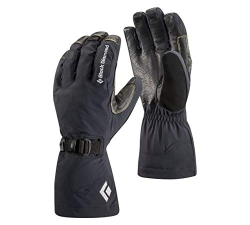(Black Diamond Pursuit Cold Weather Gloves, Black, Large)