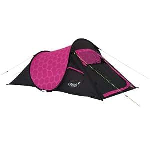 Gelert Quickpitch Compact 2 - Tienda de campaña instantánea, color con diseño floral, color rosa