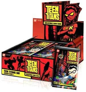Teen Titans Go! Collectible Card Game Booster Series 1 Complete Box