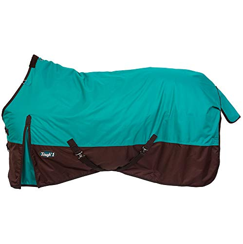 Tough-1 600D Waterproof Turnout Blanket Turquoise 69