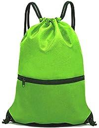 3df98c0accf Men   Women Sport Gym Sack Drawstring Backpack Bag (White, Purple, Burgundy,