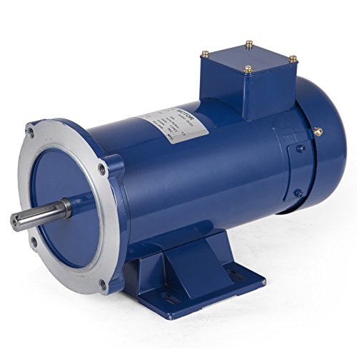 VEVOR 3/4 Hp DC Electric Motor Rated Speed 1750 RPM 24V Electric Motor Permanent Magnet Motor