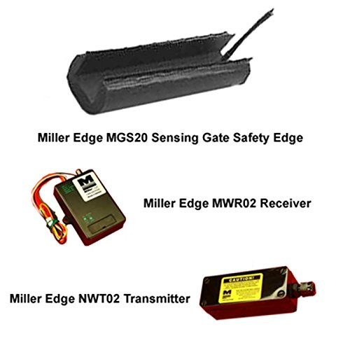 Miller Edge MGS20 Sensing Gate Safety Edge Kit Including Transmitter & Receiver