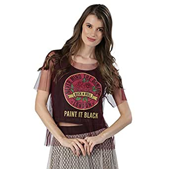 ICONIC Blouses For Women M, Red
