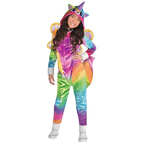 Suit Yourself Felicity Costume for Girls, Rainbow Kitty Unicorn, Small, Includes Accessories]()