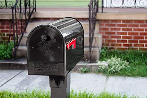 Gibraltar Mailboxes OM160B01 Outback Double Door, Large Capacity Mailbox Black by Gibraltar Mailboxes (Image #8)