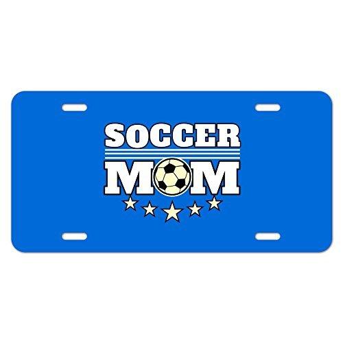 zaeshe3536658 Soccer Mom Mother Sports Novelty Metal Vanity Tag License Plate by zaeshe3536658