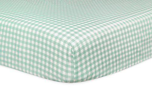Babyletto Fitted Crib Sheet, Tulip Garden
