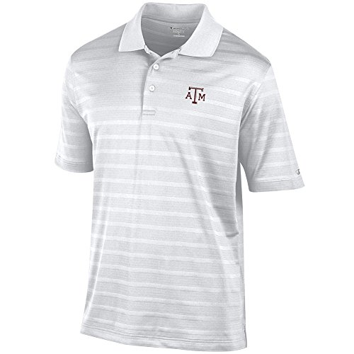 Elite Fan Shop Texas A&M Aggies Polo Golf White - L - Texas A&m Aggies Golf