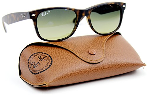 Ray-Ban RB2132 894/76 Havana Frame / Blue-Green Mirror Polarized Lens ()
