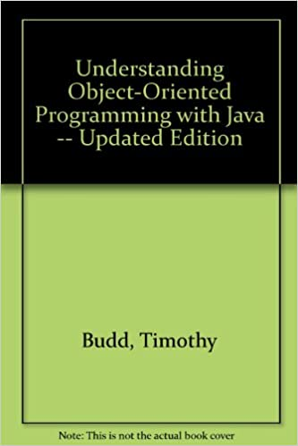 Understanding Object Oriented Programming With Java Timothy Budd Epub