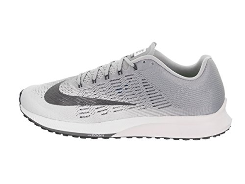 Scarpe 9 wolf Multicolore 100 Nike Grey Dark Uomo Air Running Zoom Elite White UqP6wtI