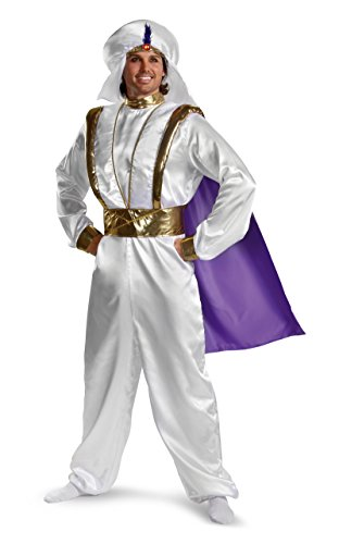Aladdin Costume Prince Costume Sheik Costume Prestige Adult Costume 5952 (One (Prince Aladdin Costume)