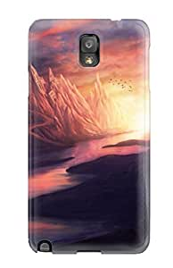 Galaxy Note 3 Case Cover Skin : Premium High Quality Cave Castle Case