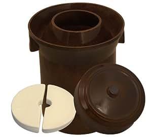 K&K Keramik Pot à fermentation en céramique Épaisseur 15mm 10l by K&K Keramik