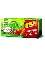 مرقة الخضراوات من كنور، 12 مكعب - 108 جم