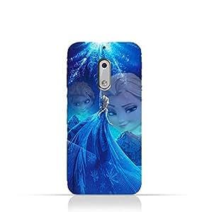 Nokia 6 TPU Protective Silicone Case with Frozen Elsa Design