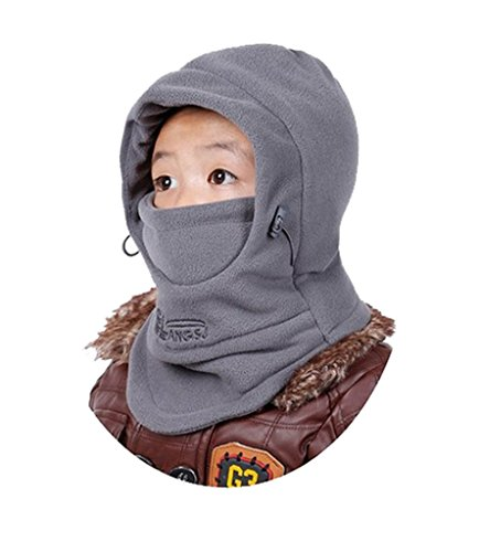 YR.Lover Children's Double-Deck Winter Windproof Cap Thick Warm Face Cover Adjustable Ski Hat – DiZiSports Store