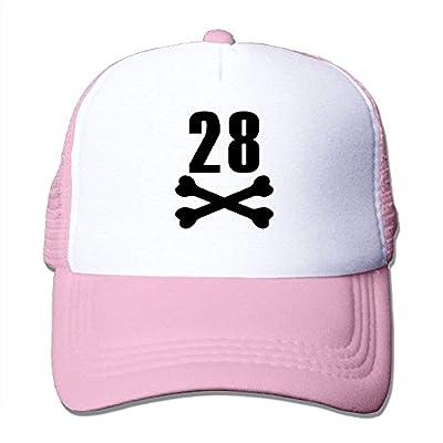Baseball Cap Birthday 28 Adjustable Snap Back Sports Custom Mesh Trucker Hat by BHUIA