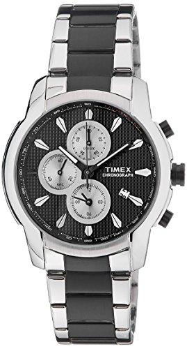 Timex E Class Chronograph Black Dial Men #39;s Watch   TW000Y506