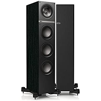 KEF Q500 Floorstanding Loudspeaker - Black Ash (Single)