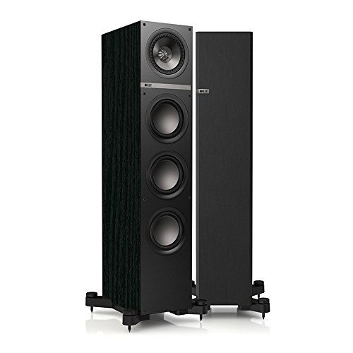 KEF Q500 Floorstanding Loudspeaker - Black Ash (Single)