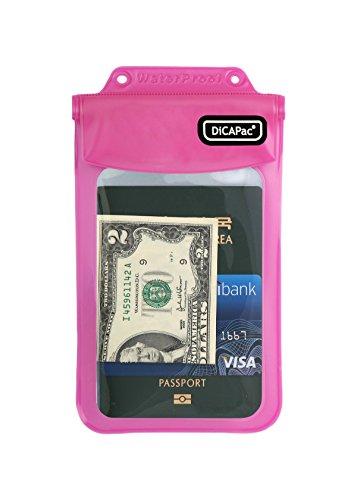 DiCAPac WP-565 Pink Personal Belongings Series Waterproof Case ()