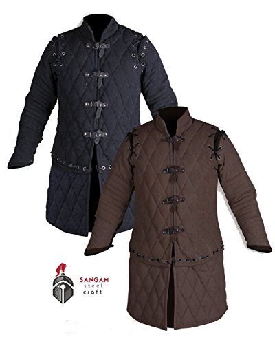 Thick Padded Medieval Gambeson Jacket Costumes