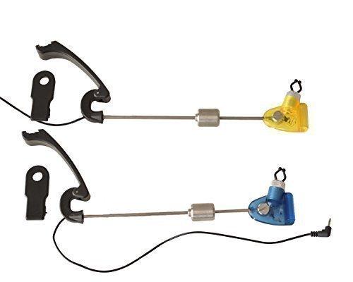LED Swinger Indicador de Mordisco Carpas Pesca Boilie Ca/ña Pot Accesorios de Pesca Azul