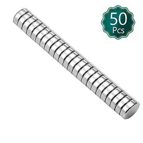 Brushed Nickel Pawn Style Fridge Magnets, Office Magnets, Dry Erase Board Magnets, Refrigerator Magnets, Whiteboard, Map, Magnetic Pins (Pack of 50) - Brushed Nickel Can Opener
