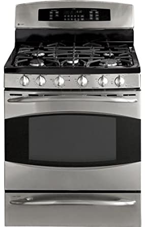 ge profile pgb918semss 30 double oven gas range - Double Oven Gas Range