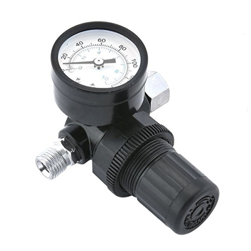 Te echo de menos Air Regulator with Pressure Gauge Air Regulator Spray Gun Regulator from Te echo de menos
