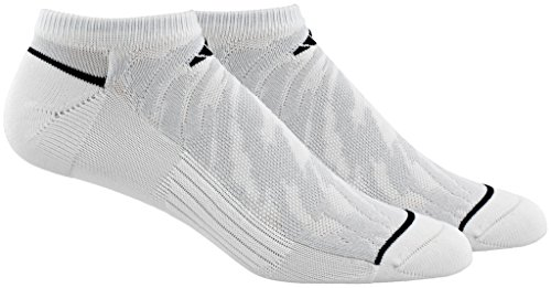 adidas Mens Superlite Speed Mesh No Show Socks (2 Pack)