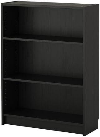 BILLY de IKEA - librería, negro-marrón - 80 x 28 x 106 cm