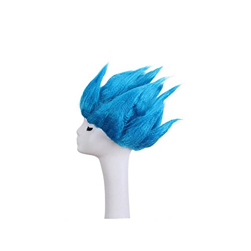 BoMing Man's Fashion Blue Cosplay Wigs Halloween -