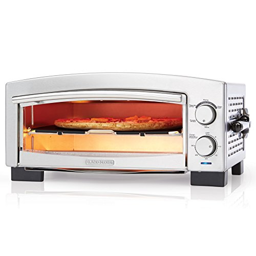 BLACK+DECKER P300S 5-Minute Pizza Oven & Snack Maker, Pizza