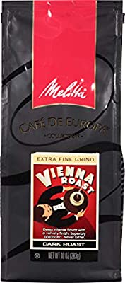 Melitta Café de Europa Vienna Roast Ground Gourmet Coffee