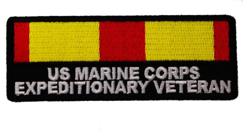United States Us Marine Corps Expeditionary Unit Meu Veteran Iron Or Sew On Embroidered Patch D36