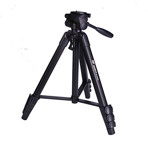 100BTF 65 1635mm BY-868 Universal Digital Camera Tripod Foldable and Portable Aluminum Alloy for All Camera Mount