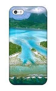 Iphone 5/5s Hybrid Tpu Case Cover Silicon Bumper Bora Bora 1733611K83929055