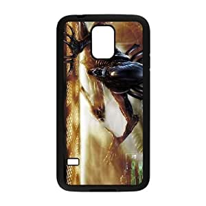 samsung galaxy s5 Black Alien phone case cell phone cases&Gift Holiday&Christmas Gifts NVFL7N8825503
