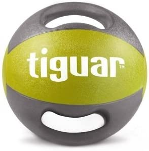 tiguar Balón Medicinal con asas 5 kg, 6 kg, 7 kg, 8 kg, 9 kg, 10 ...