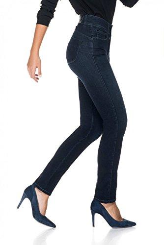 in Jambe Jeans Push Soft et Secret Bleu Slim Salsa Touch Ixqwpdq