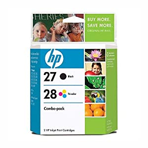 HP C9323BN 27/28 Black/Color Ink Cartridge Combo Pack